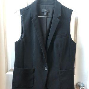 Black J.Crew Vest (12) - Like New